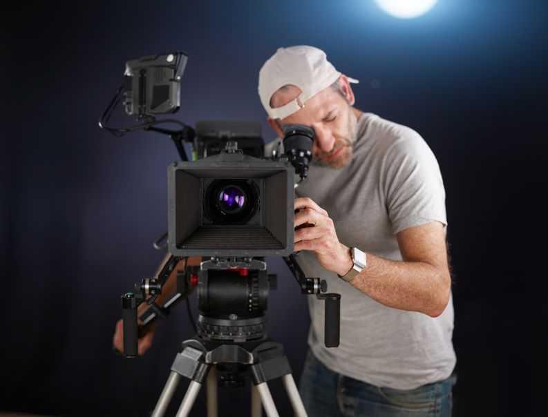 Un cameraman