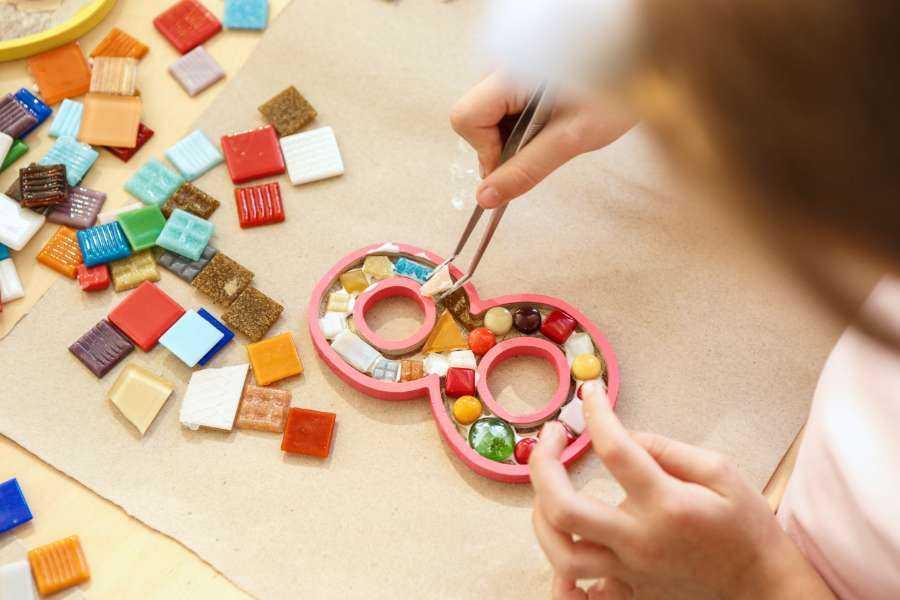 Atelier mosaïque à domicile