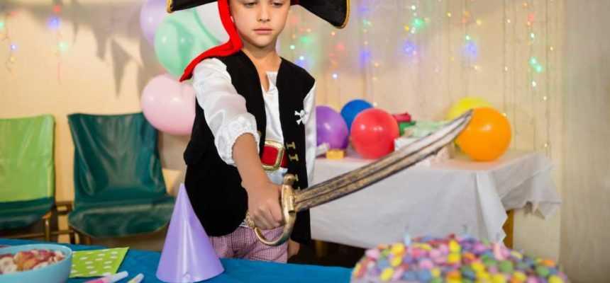 animation anniversaire à théme pirate enfant