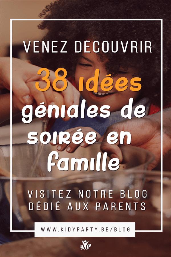 38 idées originales d'activités de soirée en famille à mettre en place facilement